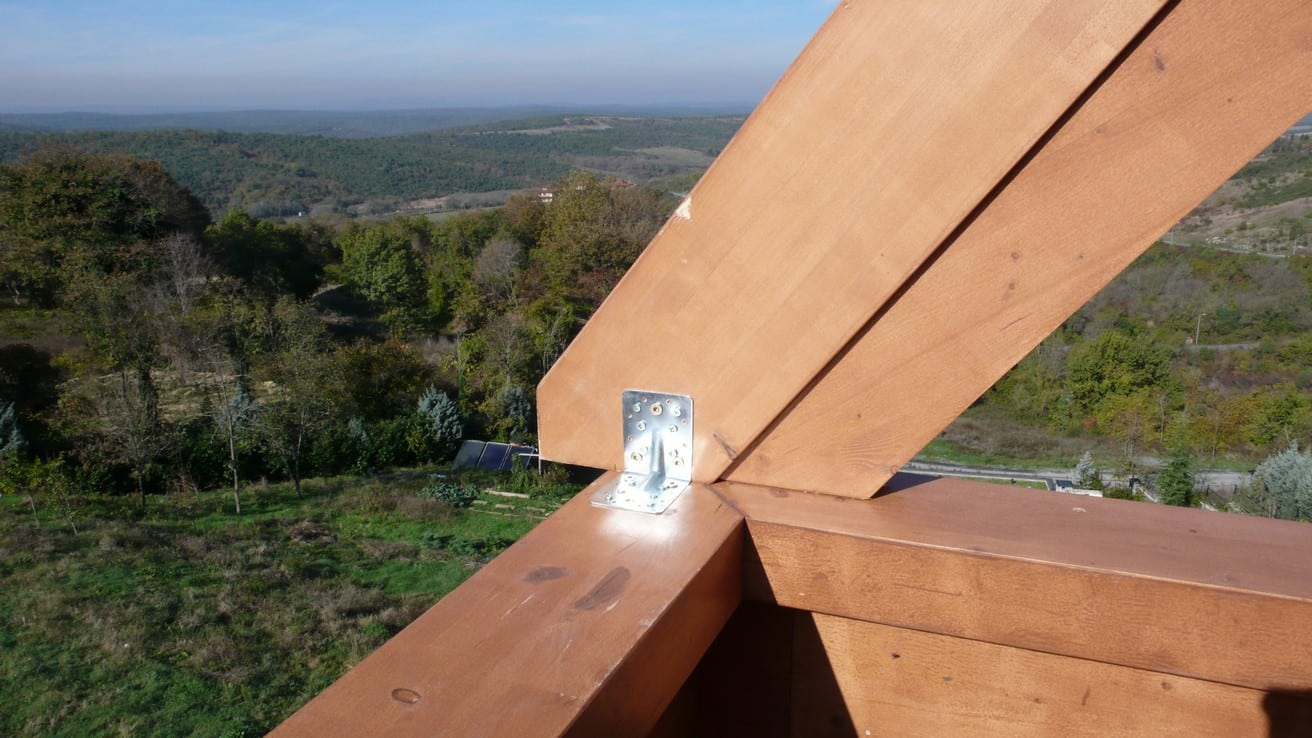 Ahşap Karkas Çatı Strüktürü Durusu Park