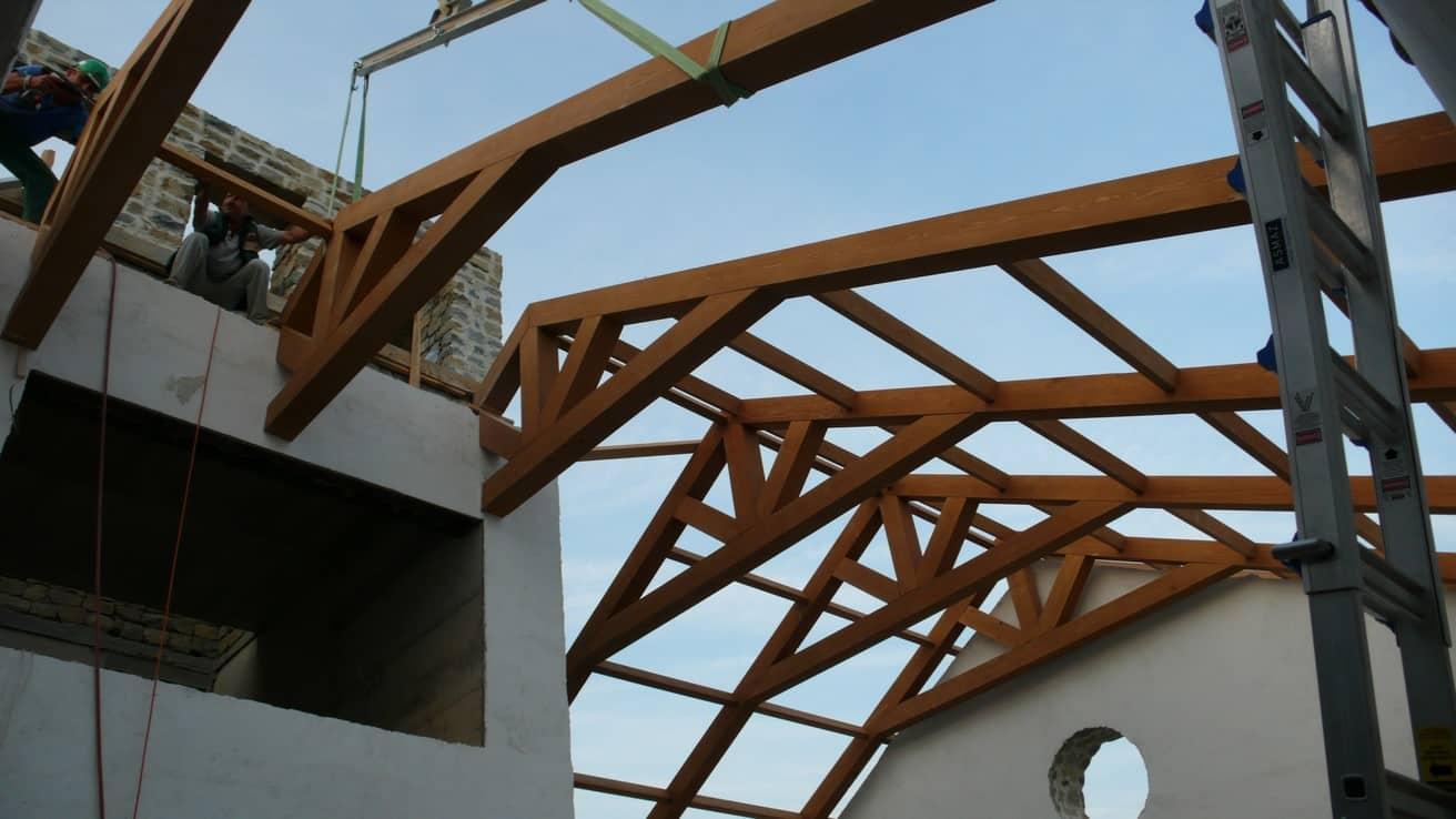 Taş Ev Çatı Strüktürü Şarköy