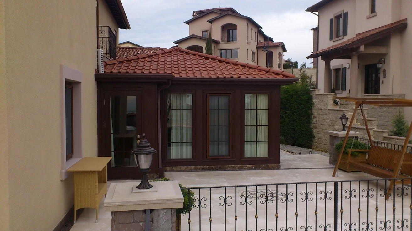 Kış Bahçesi Toskana Vadisi Evleri