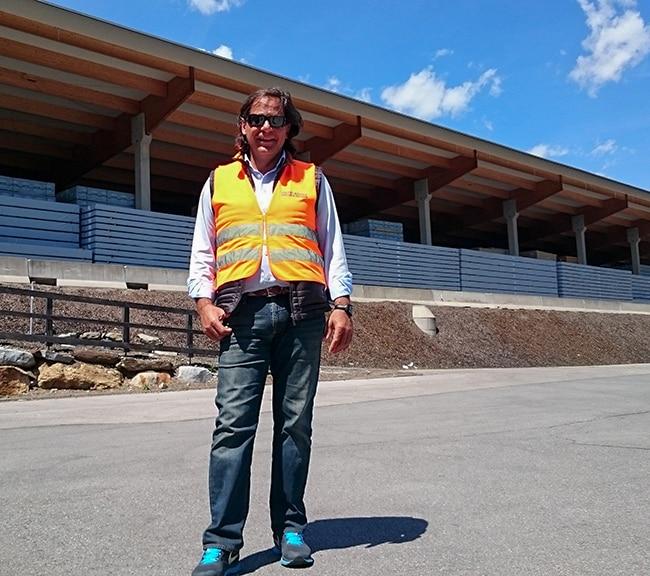 Mehmet Akif Asmaz, Avusturya Yapısal Lamine Ahşap Fabrika Ziyaretleri
