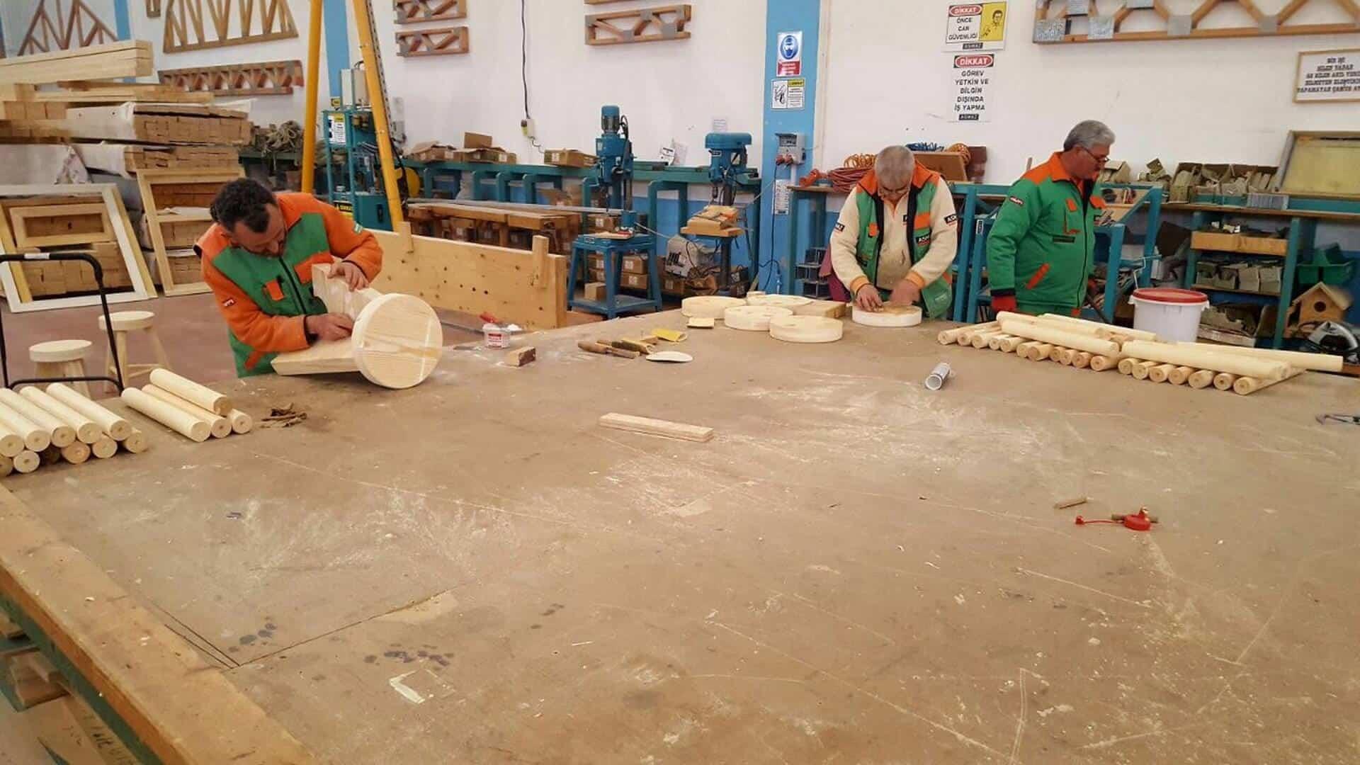 Açıkhava Sınıfı - Üretim