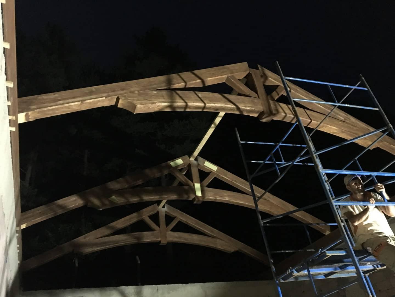 İznik Çatı Strüktürü