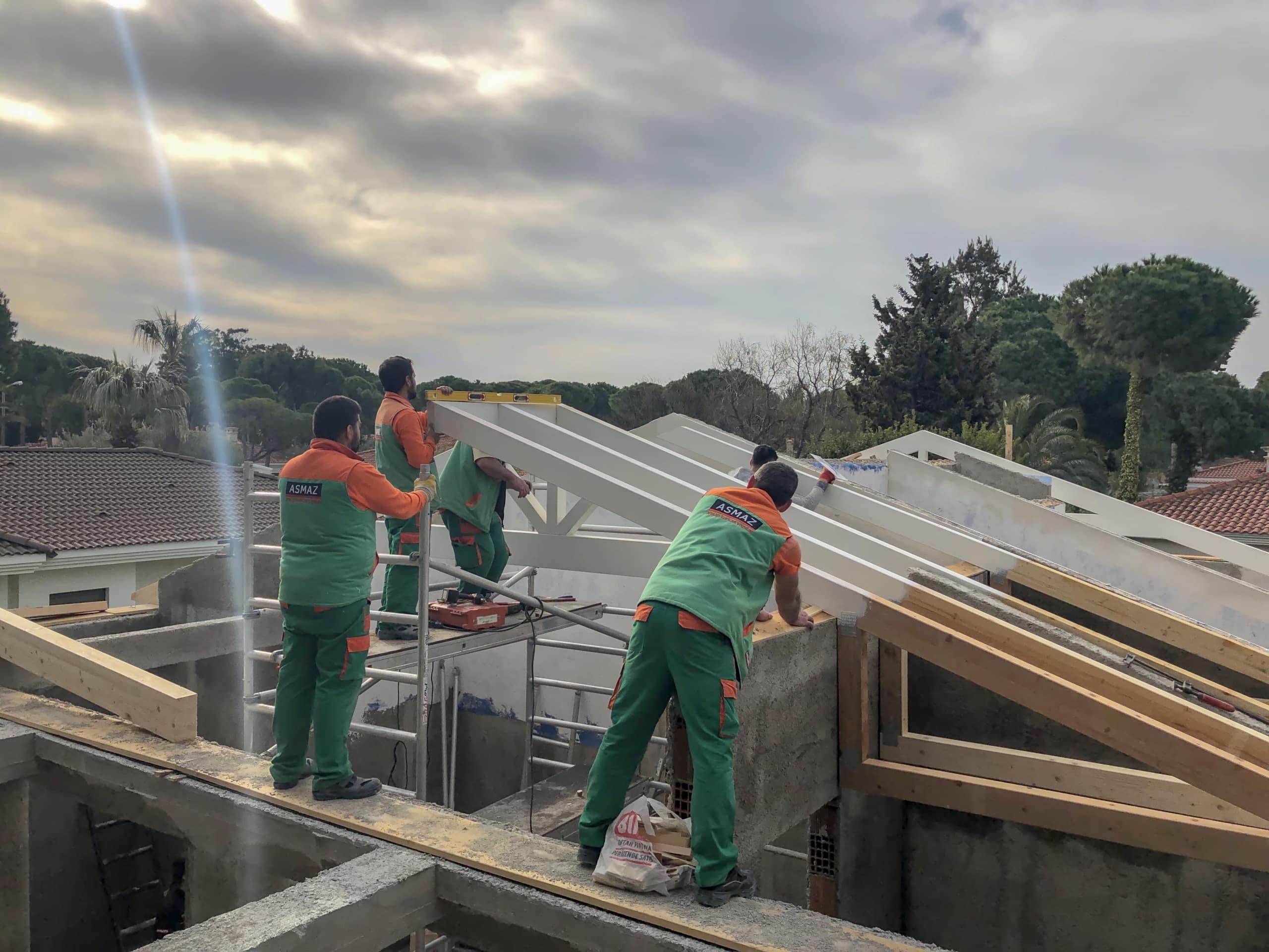 Çeşme Çatı Projesi
