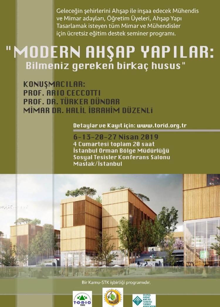 Modern Yapılarda Ahşap Semineri