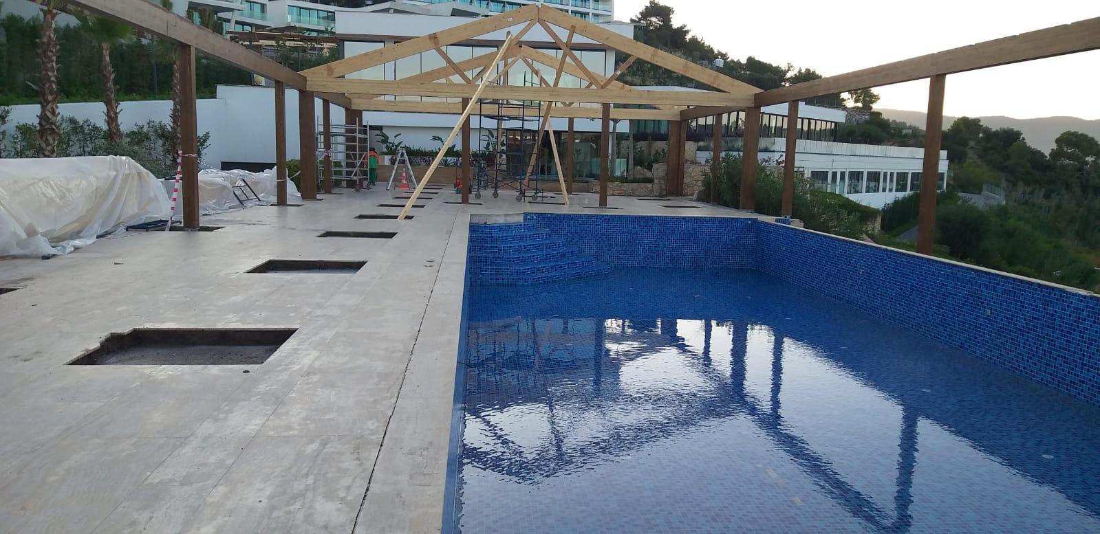 Le Meridien Bodrum Kapalı Havuz Strüktürü