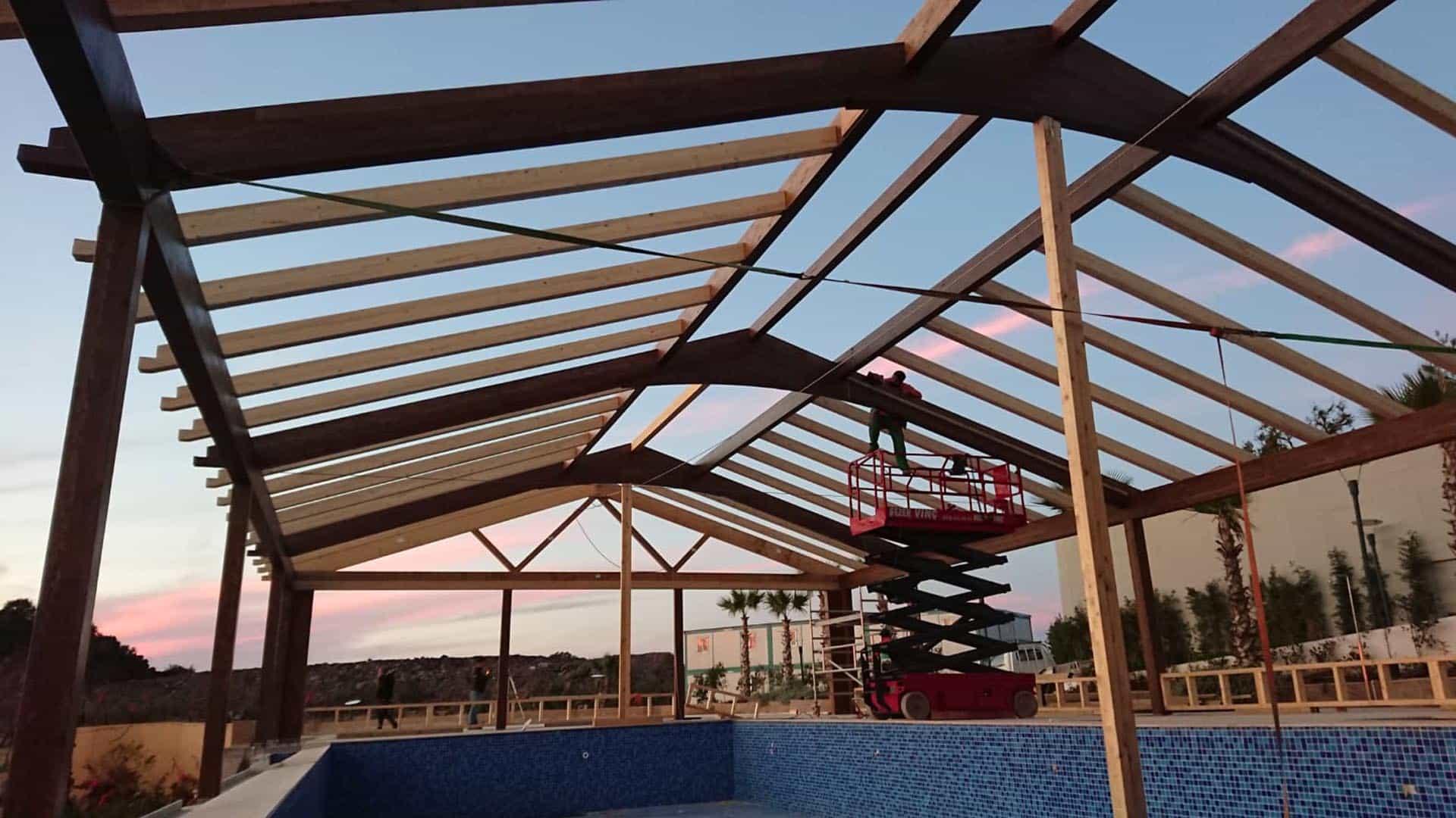 Bodrum Resort Havuz Struktur