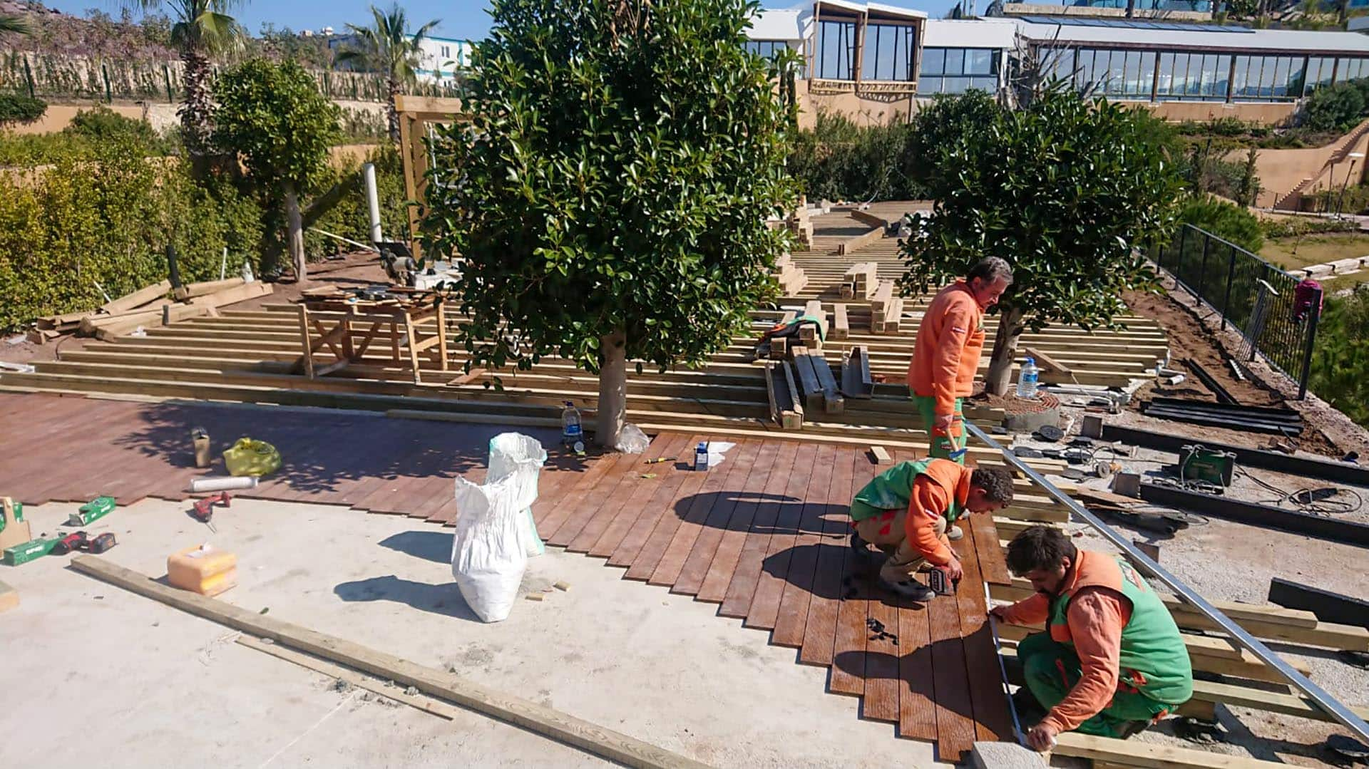 Le Meridien Bodrum Beach Resort Bambudeck Uygulamaları