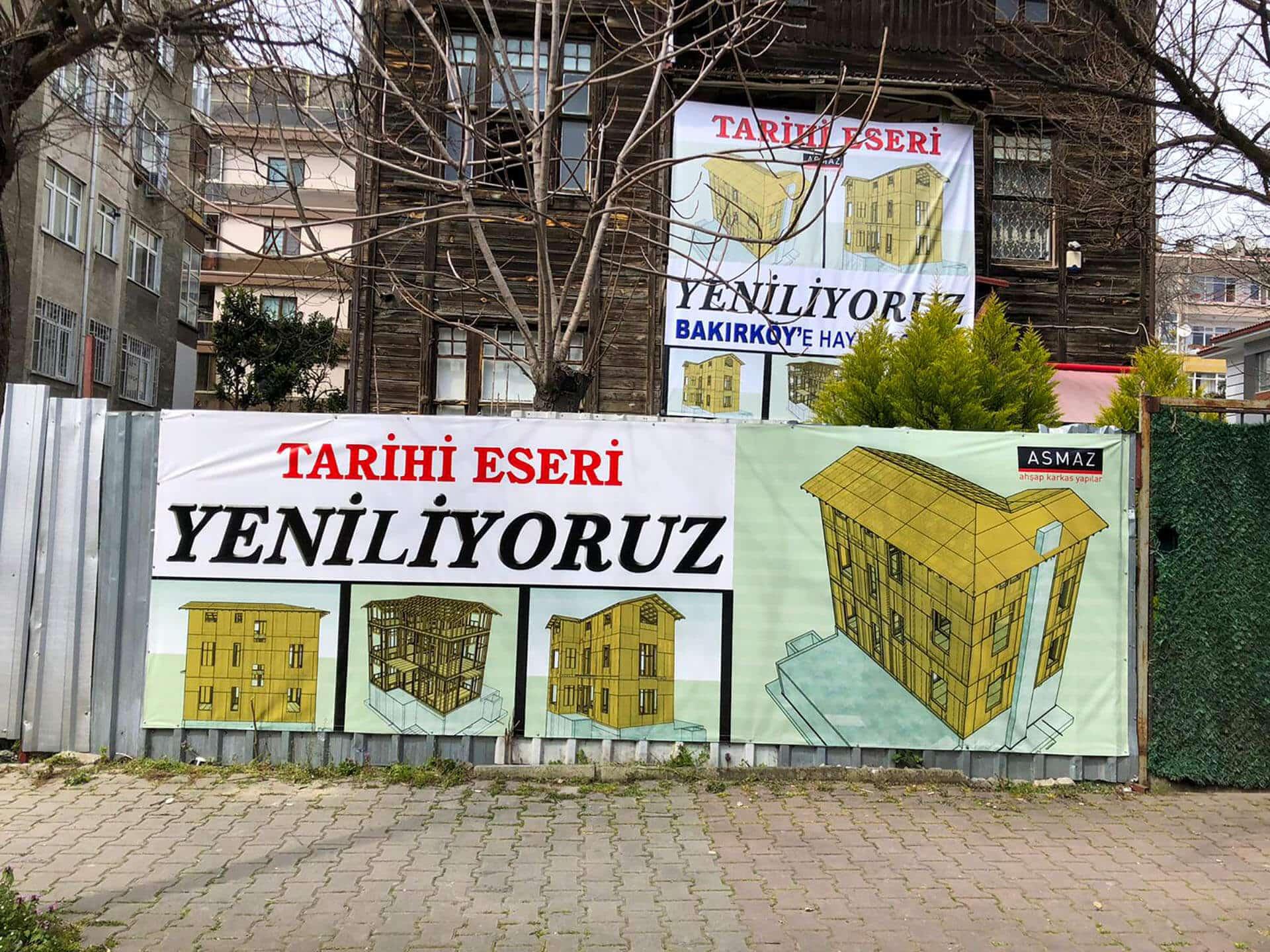 Bakırköy Tarihi Eser Restorasyon