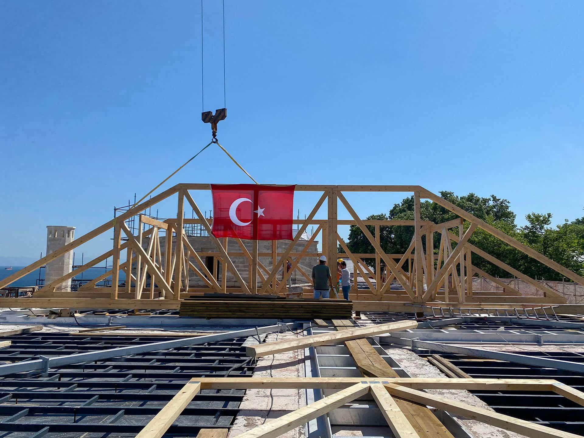 Topkapı Sarayı Müzesi Fatih Köşkü Çatısı Rekonstrüksiyon